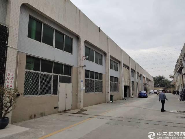 沙井松福大道边独院钢构厂房3500平米出租