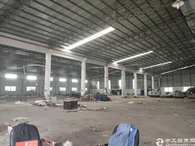 新出原房东分租分租单一层钢构厂房,实际面积