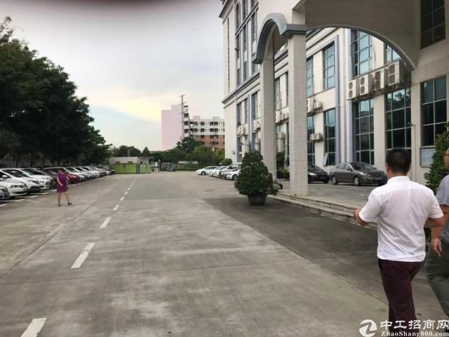松岗原房东红本厂房10万平独院招租