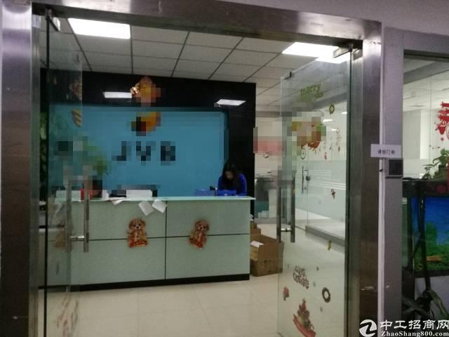 西乡九围村委会附近楼上带精装修厂房600-1200平米招租