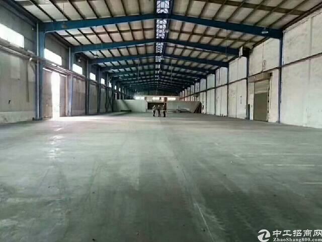 惠阳新圩工业园区独栋砖墙到顶8000平钢构现空出租