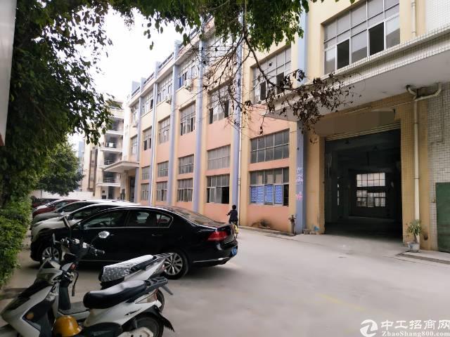 沙井新初一二楼实际面积厂房3400平方出租