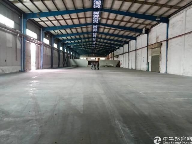 龙岗原房东钢构厂房一楼4000平方出租,空地5000平方