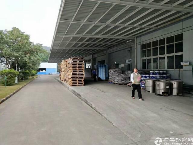 龙岗宝龙工业区新出原房东独门独院滴水10米钢构招租