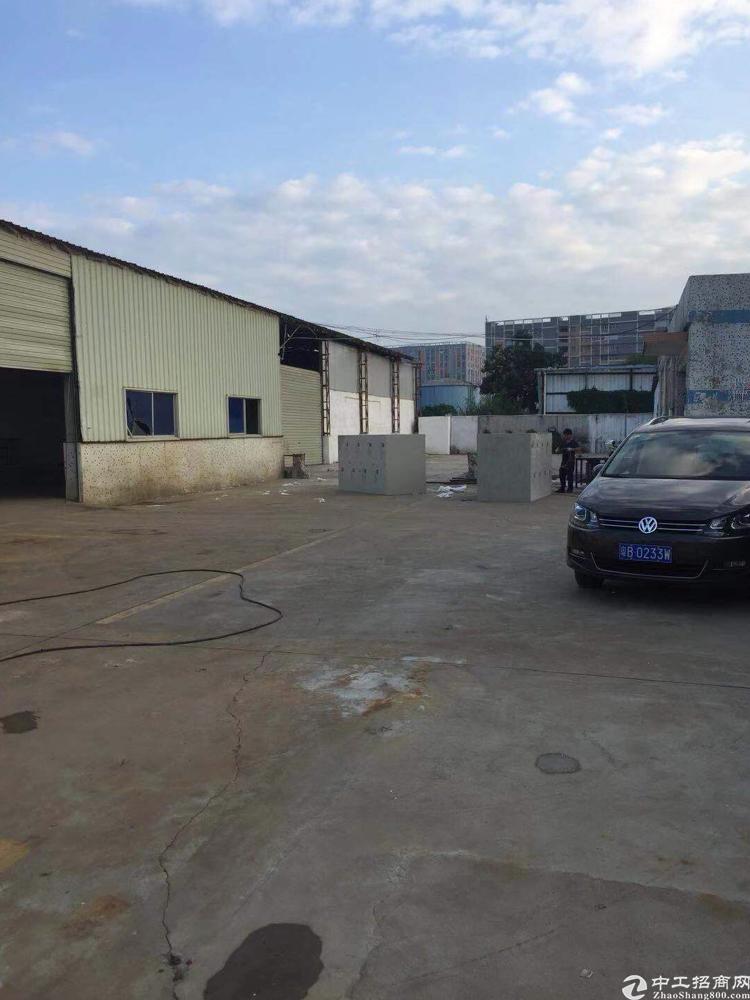 沙井大王山附近新出1500平方可做废铁打包厂房出租