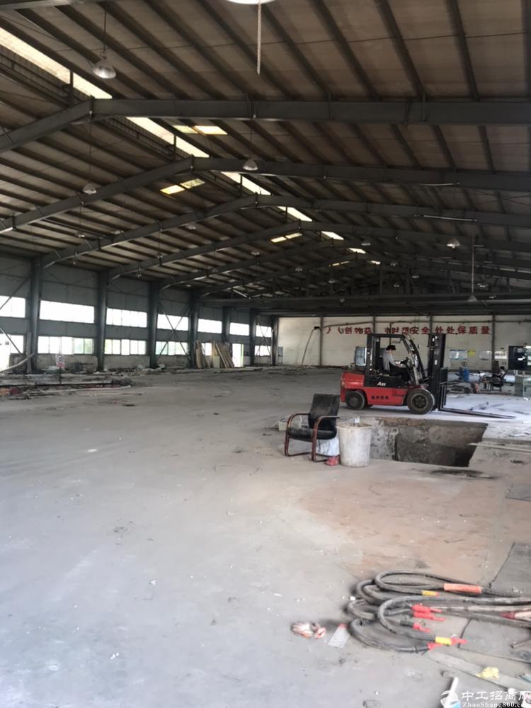 油松原房东钢构厂房实际面积出租2600平方