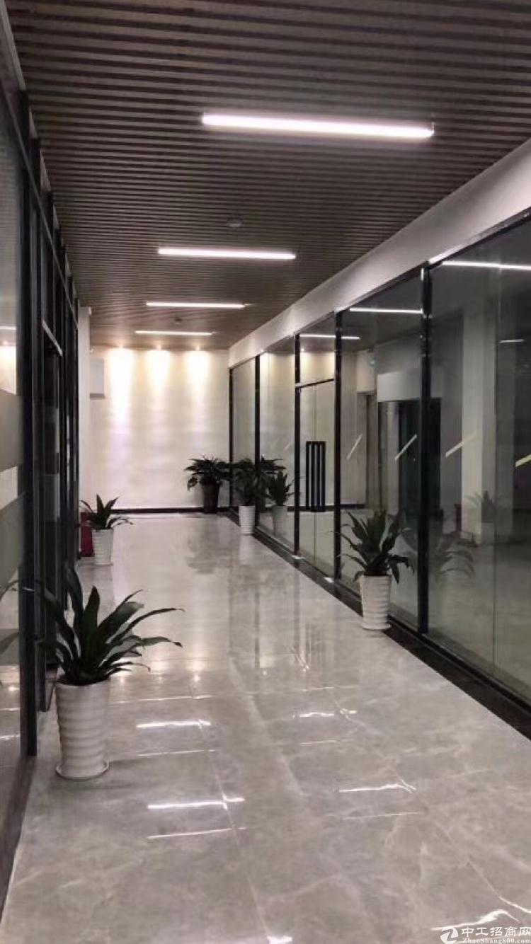 龙华布龙路旁办公室100平招租,现成精装修
