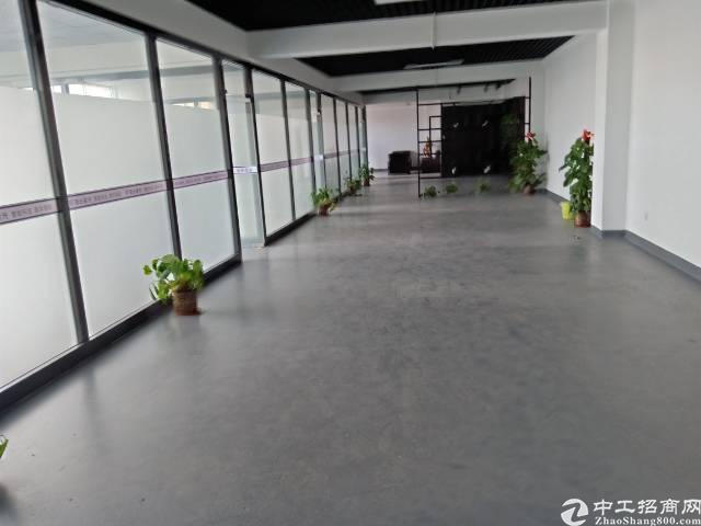横岗安良新出厂房1500平,豪华装修,空地超大,