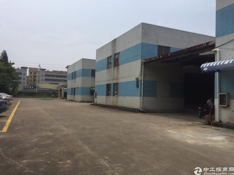 长安镇沿江高速附近新出原房东单一层独院2400平米厂房出租-图2