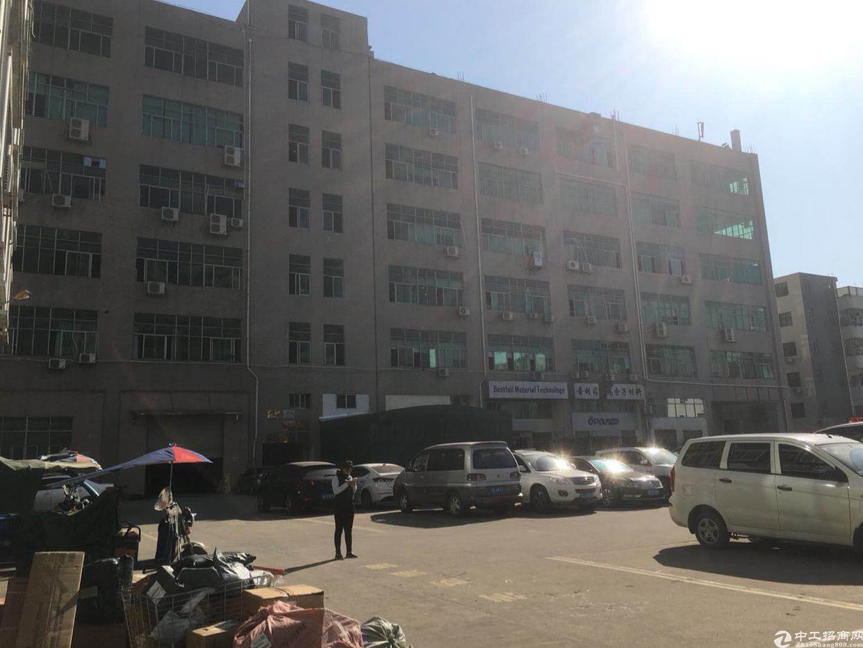 坪山坑梓中心位置产业园5楼1280平3吨电梯厂房出租16元