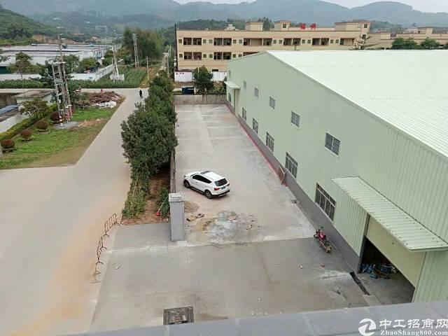 仲恺全新独院单一层钢构厂房面积8000平方滴水8米可分租