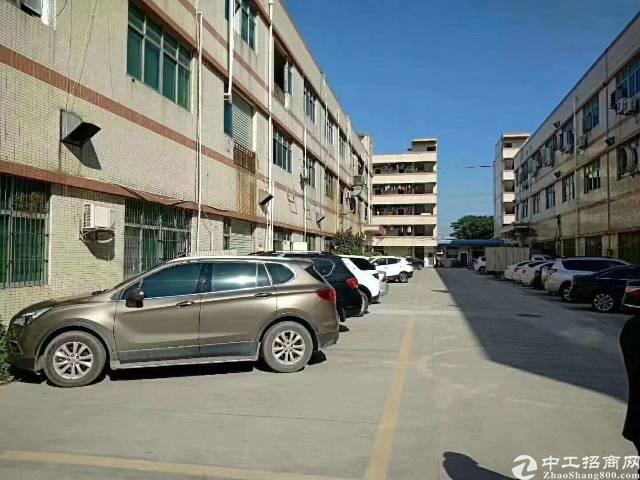 沙井宝安大道附近后亭工业区2楼2500平米厂房出租