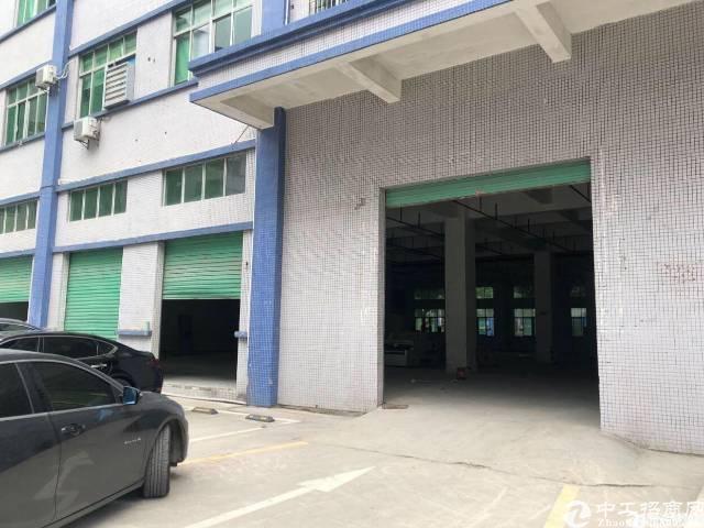 坂田上雪科技园新出一楼1600平厂房招租