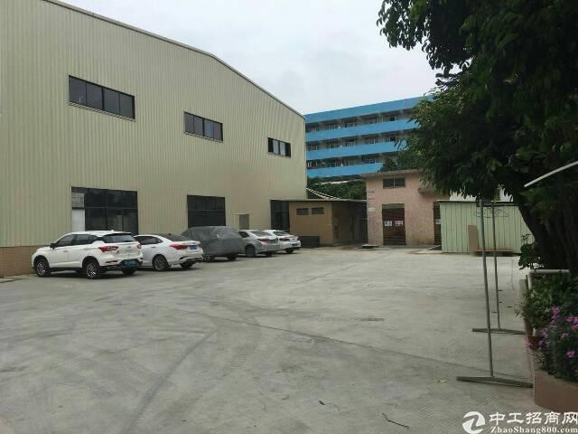 大岭山镇新出12米高重工业厂房4400平