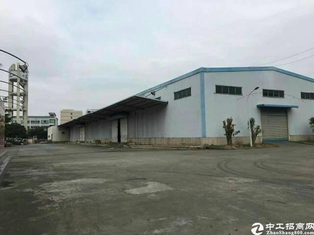 惠东县新出原房东单层独院钢构3000平方招租。