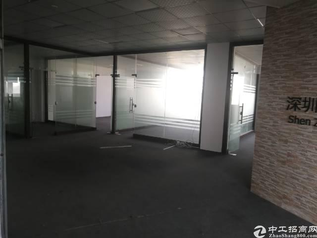 观澜观光路旁新出楼上豪华精装修标准厂房-图2