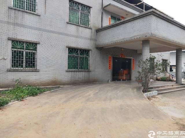 东莞市洪梅镇工业用地,可以办环评厂房8500出租。