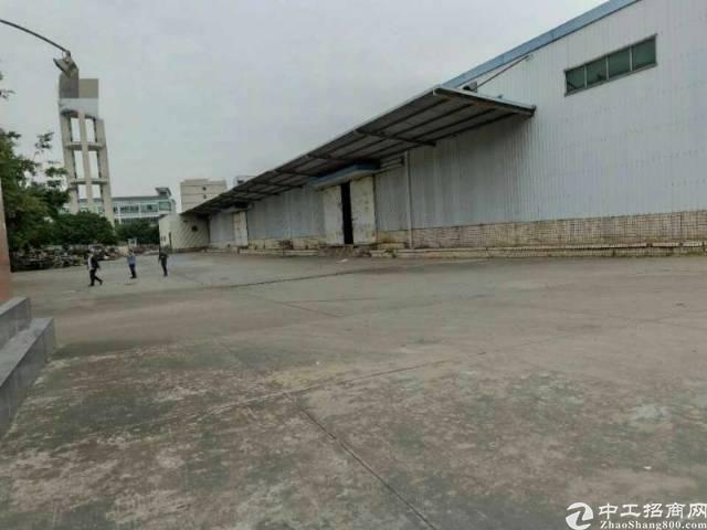 龙岗宝龙独院单一层标准物流滴水10米仓库4000平方出租!