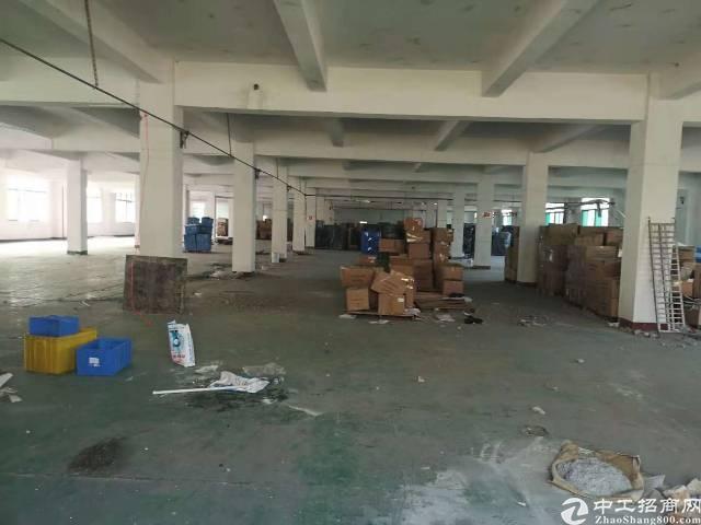沙井马安山地铁口附近新出楼上1265平精装厂房出租