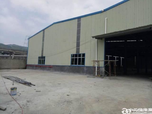 博罗县园洲镇高速出口旁边900平方仓库首选单一层独院厂房出租
