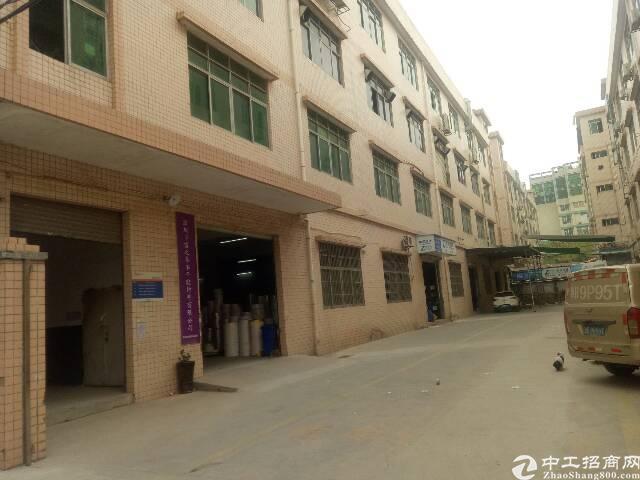 平湖华南城附近大工业园新出一楼标准厂房800平招租