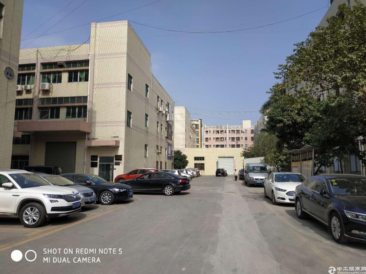 沙井北环路共和村新出原房东1-3层6000平厂房出租