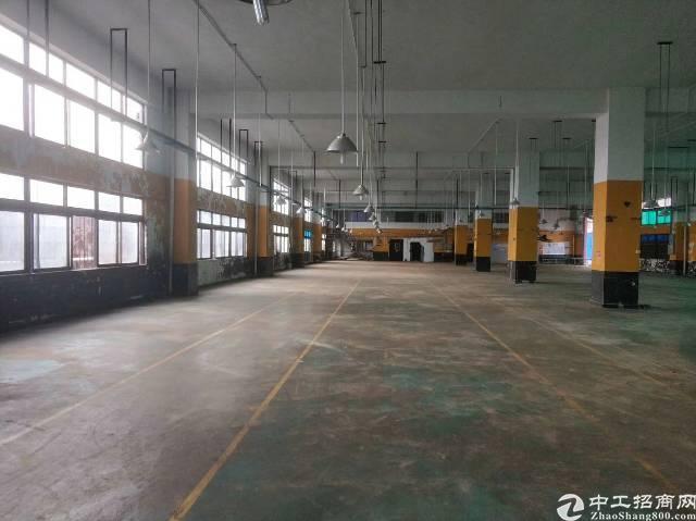 惠州市区附近一楼厂房招租6.5米高形象好,配套齐全