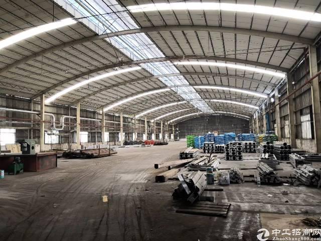 番禺石基镇3万平米钢构厂房出租可分租的可办环评-图5