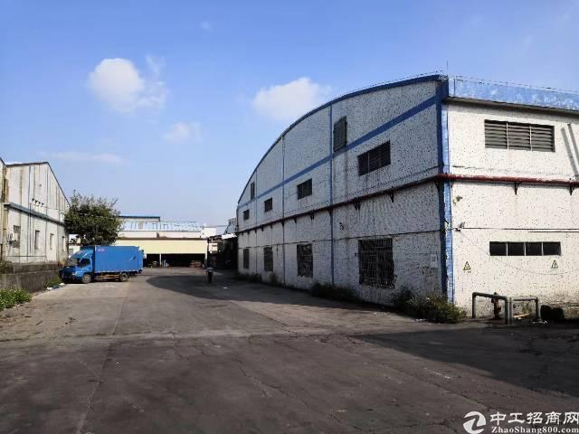 番禺石基镇3万平米钢构厂房出租可分租的可办环评-图3