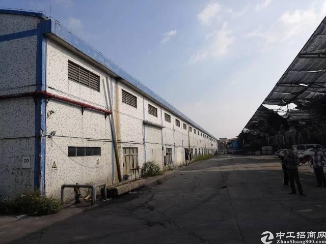番禺石基镇3万平米钢构厂房出租可分租的可办环评-图4