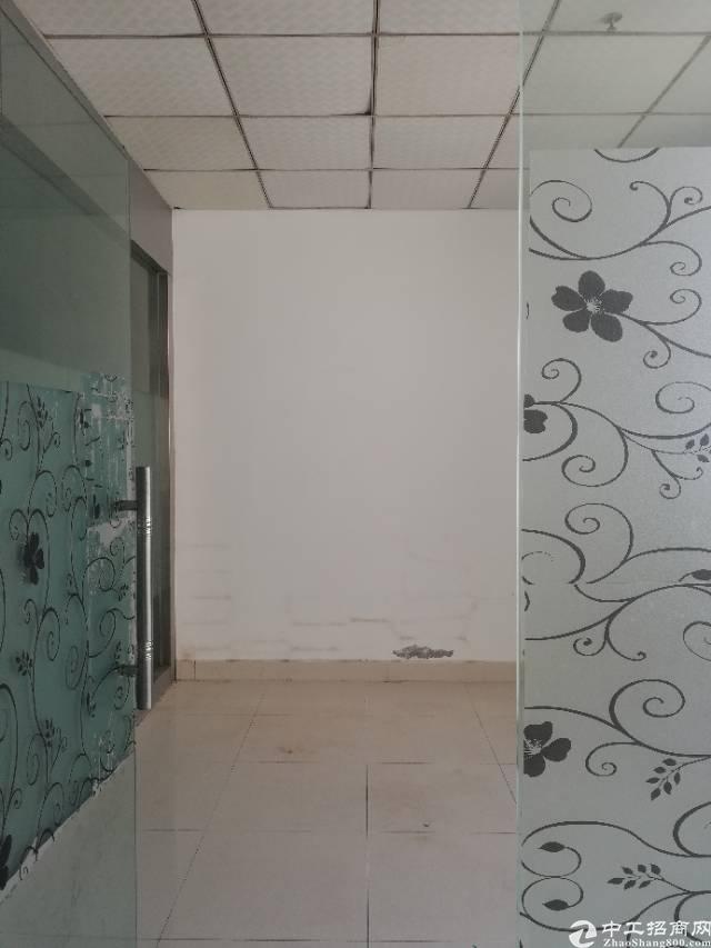 福永地铁口新出楼上500平厂房带装修仓储贸易