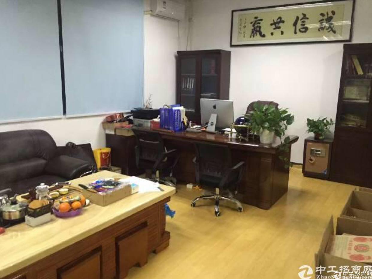 布吉下李朗科技园一楼250平带办公仓库出租.