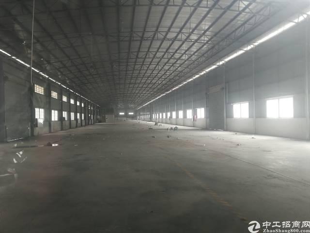 番禺石基镇3万平米钢构厂房出租可分租的可办环评-图2