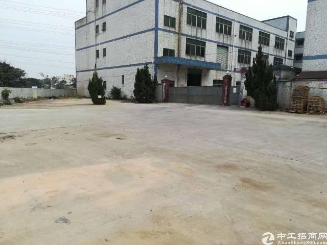 松岗原房东独院厂房1-3层4000平米