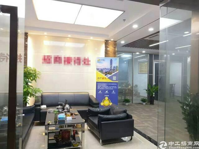 福永立新湖景龙晟科研高薪大厦出租精装办公室98平方