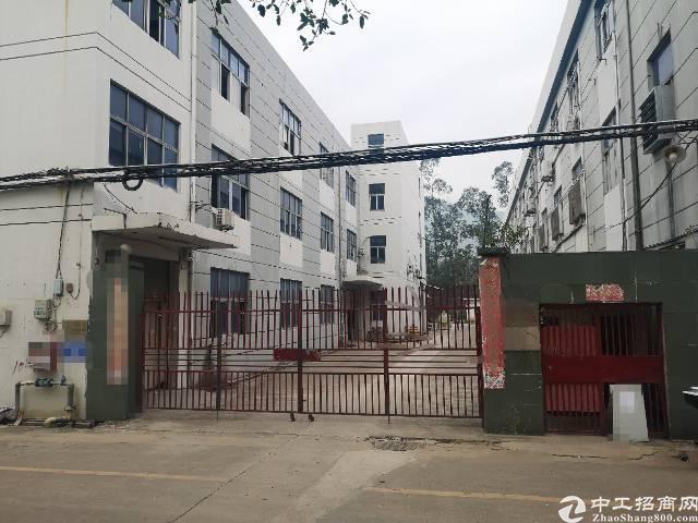 西乡黄田107国道边村委厂房整栋4600平米出租