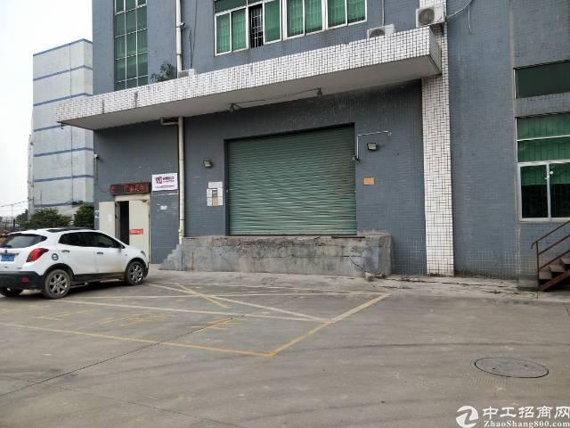 福永和平沿江高速出口一楼1100平物流仓库出租