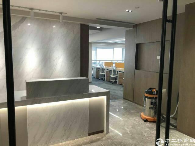 福永地铁口精装大小面积年底兔租金写字楼出租76平方