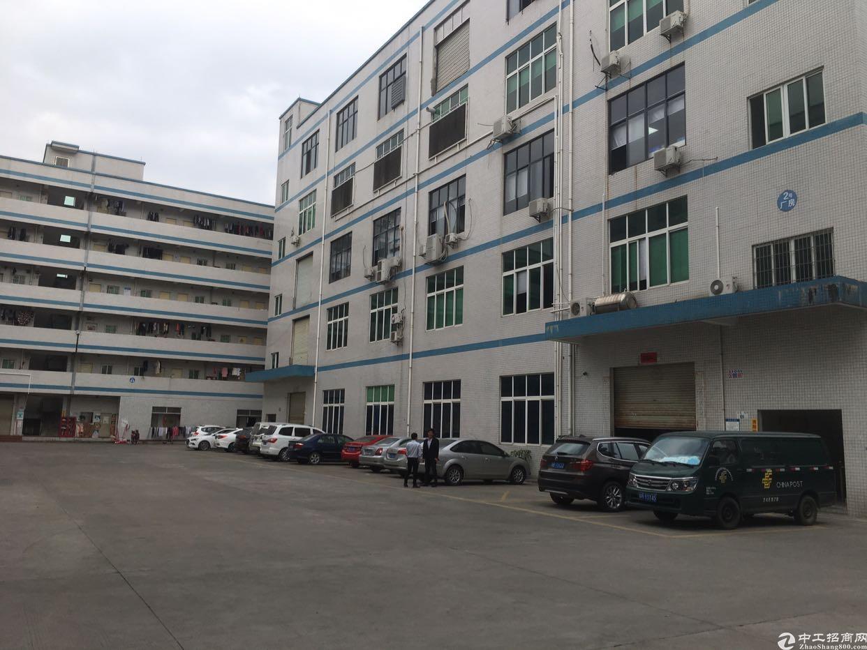 五联新出楼上厂房1600平出现面积实在