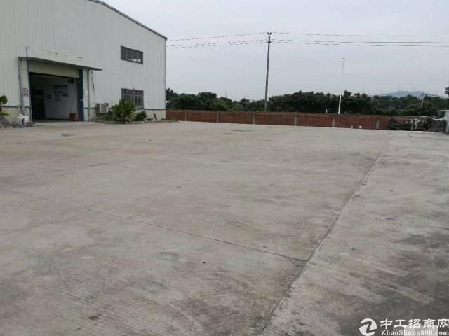 (出租)光明独院钢构6800平米仓库 厂房出租500平米分租