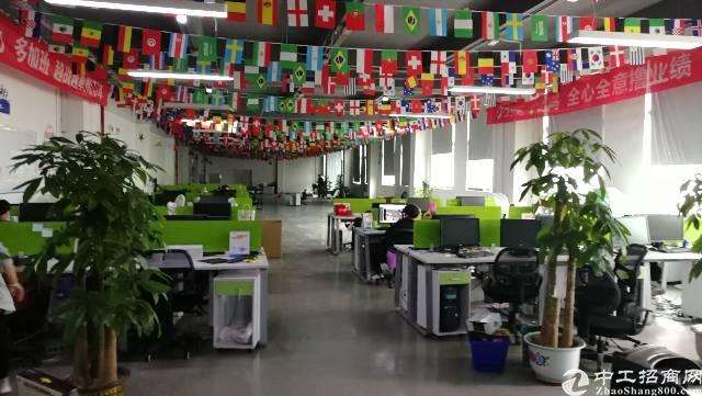 布吉杨美地铁站200米1700平方精装修电商办公厂房出租!