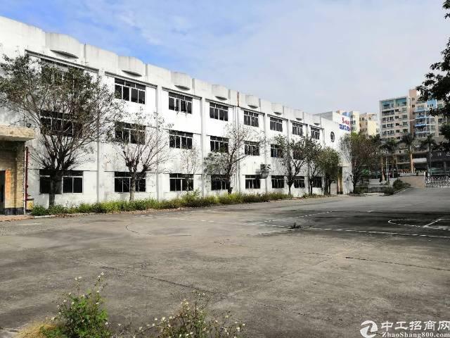 常平超低价12万平方标准厂房可分独院家具厂注塑厂