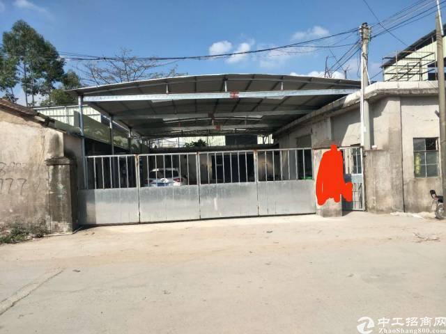 惠城区水口镇新出砖墙到顶铁皮房出租,