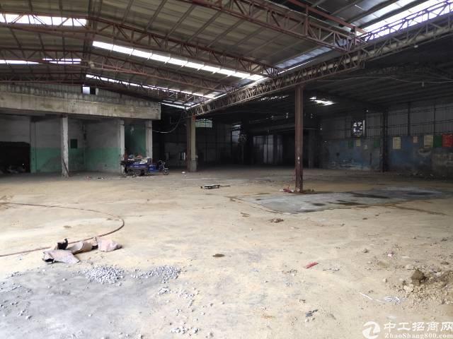 横沥镇新出原房东独栋铁皮房2100平方米出租