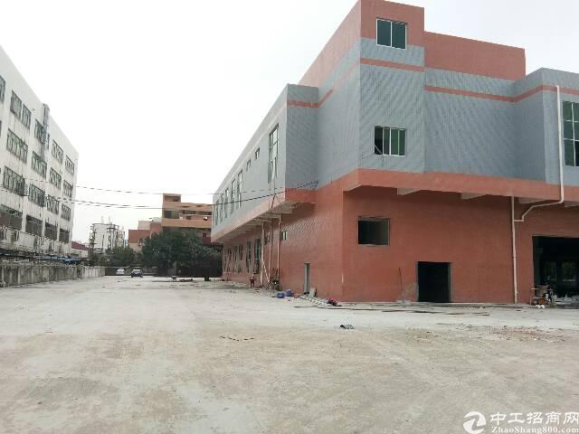 出租长安沙头南区全新标准重工业厂房11035平花园式厂房招租