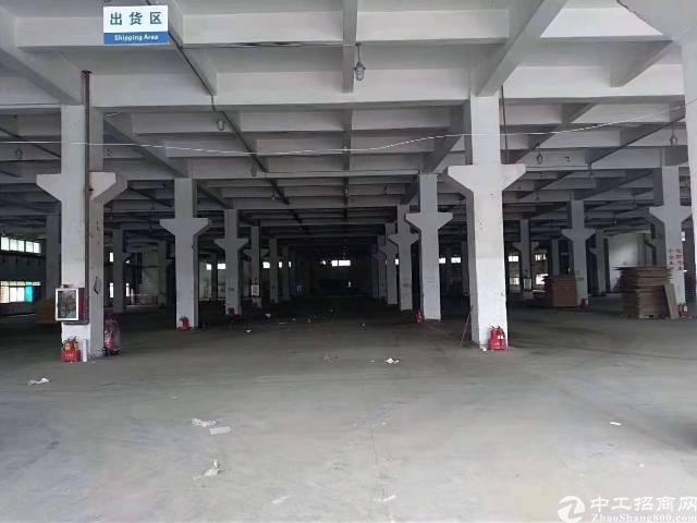 沙井东部新出独门独院物流园21000平,带装修,办公室,水电