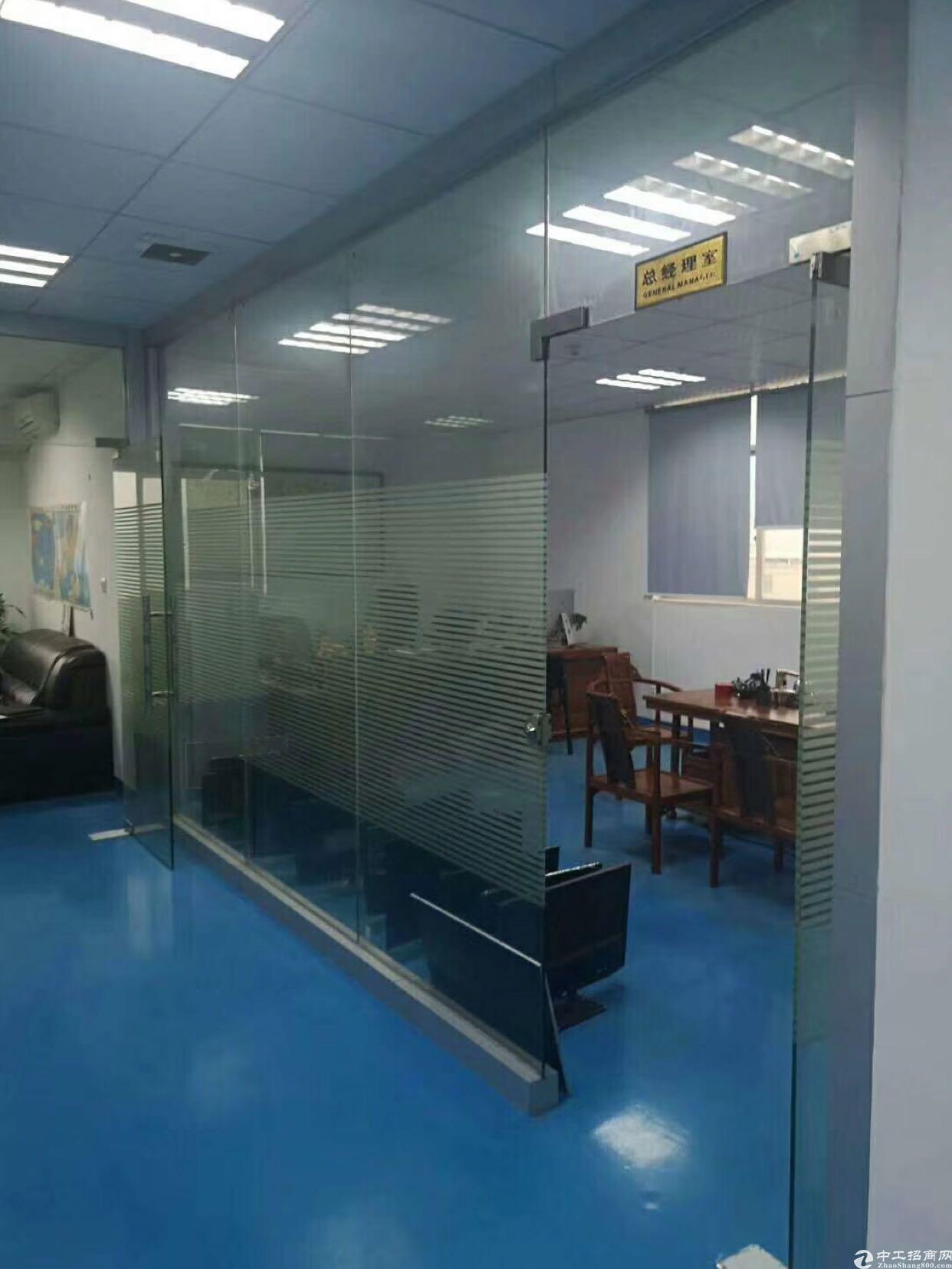 福永塘尾楼上装修写字楼350平方出租