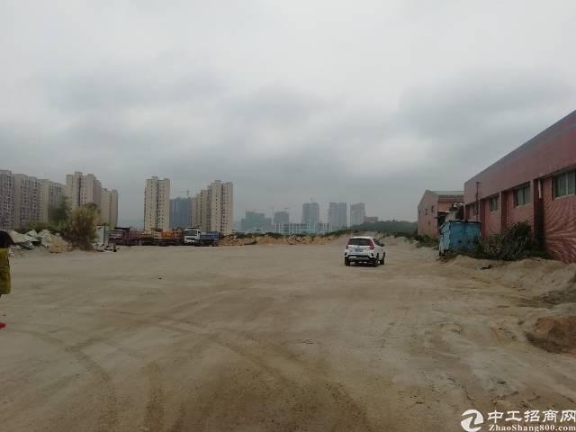 坪地中心村可硬化7500平空地出租
