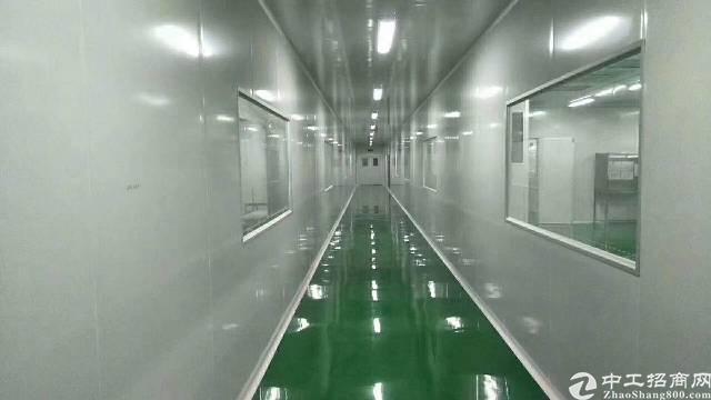 沙井后亭益华电子城附近新出楼上厂房1000平,现成无尘车间