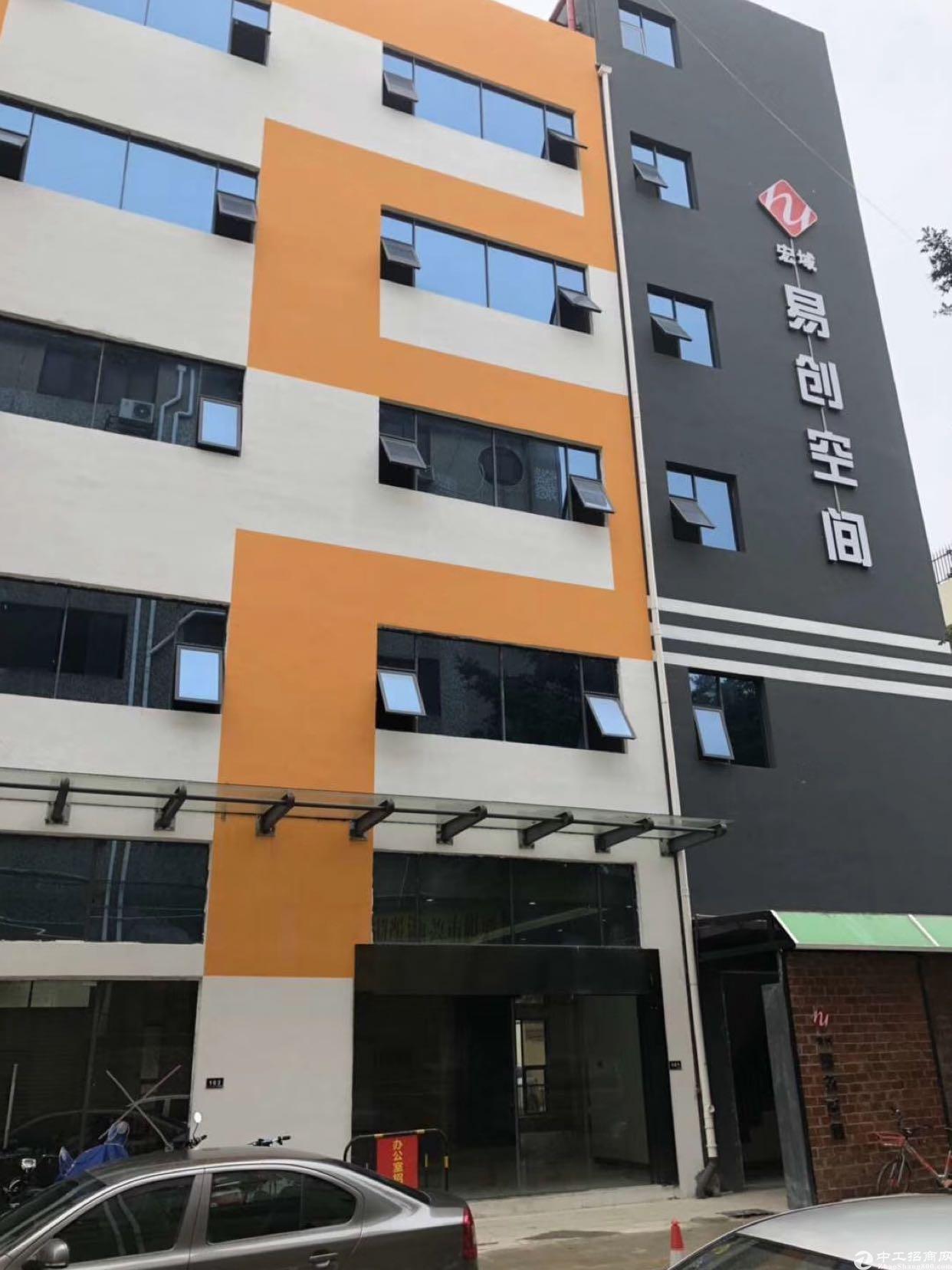 新安35区楼上500平方精装写字楼